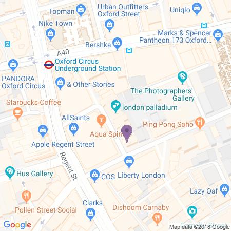 London Palladium - Beliggenhed