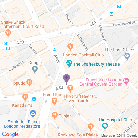 Shaftesbury Theatre - Beliggenhed